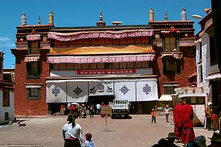 Ramoche Temple building in Lhasa, China