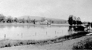 Ramona (sternwheeler 1892) - Ramona in service on the Fraser River.