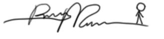 Randall Munroe - Image: Randall Munroe Sig