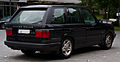 Range Rover 4.6 HSE (II) – Heckansicht, 12. Juli 2014, Düsseldorf.jpg