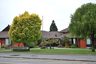 Waimakariri District - Council offices in Rangiora