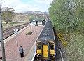 Rannoch railway station, view towards Corrour, West Highland Line, Scotland.jpg
