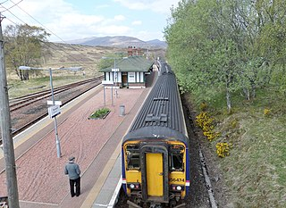 Rannoch railway station railway station in Perth and Kinross, Scotland, UK