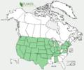 Ranunculus longirostris US-dist-map.png