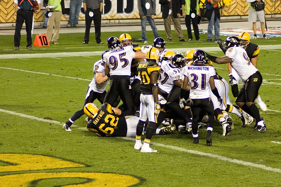 Ravens vs Steelers 2008 MNF 4