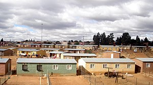 Reconstruction and Development Programme - RDP Houses in Soweto