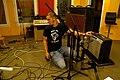 Re-amp setting in progress, Florian, Marc Morgan album recording, LowSwing studio, Berlin, 2011-01-25 22 34 20.jpg