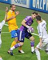 Real Madrid vs Juventus, 24 October 2013, Champions League - Giorgio Chiellini & Iker Casillas.jpg