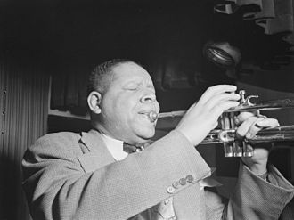 Red Allen - Allen at the Onyx Club, New York City c. May 1946 Photo: William P. Gottlieb