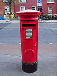Red pillar box (1916 Celebrations 2016) Church St 1.JPG