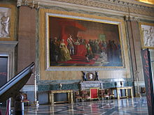 Another Neoclassical room in the Palace of Caserta. & Italian Neoclassical interior design - Wikipedia