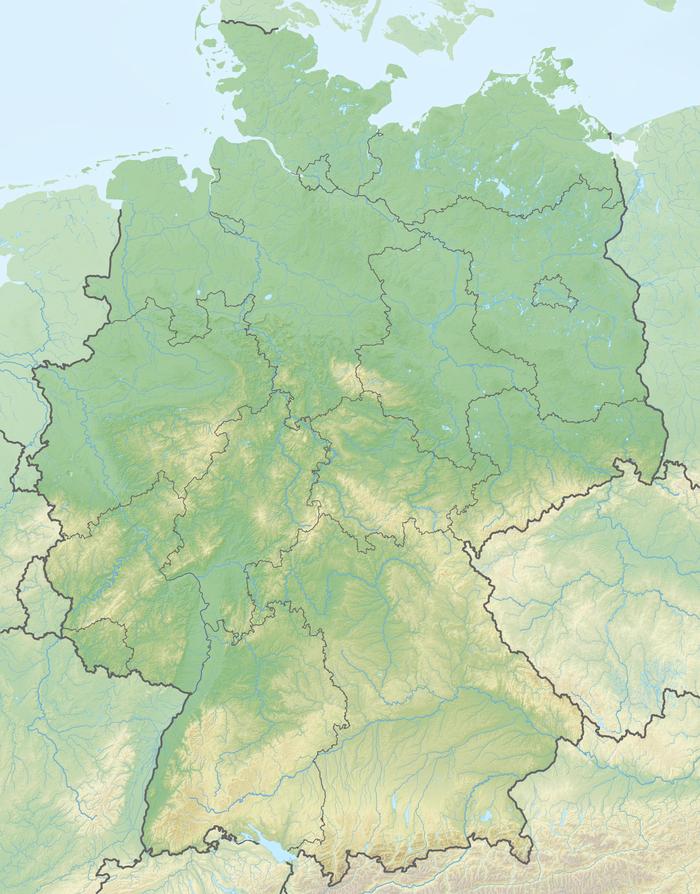 Mittelpunkte Deutschlands (Deutschland)