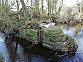 Remains of a water pump at Torrs Riverside Park, New Mills.jpg