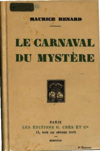 File:Renard - Le carnaval du mystère, 1929.djvu