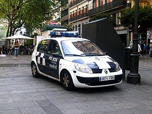 Policía Municipal de Madrid - Renault Scénic II