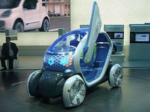 Renault Twizy - The 2009 concept