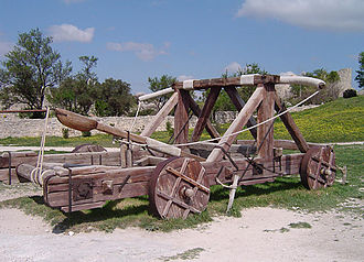 Catapult - Replica of a Petraria Arcatinus