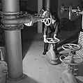 Reportage uit het waterloopkundig laboratorium te Delft, betreffende de droogleg, Bestanddeelnr 900-9473.jpg