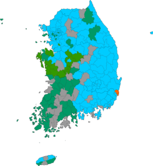 Republic of Korea local election 2002 results map.png