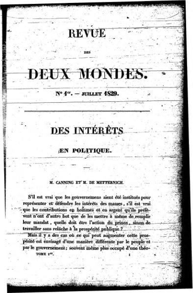 File:Revue des Deux Mondes - 1829, tome I.djvu