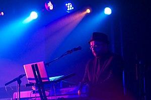 Rhodri Marsden - Image: Rhodri Marsden performing 2012