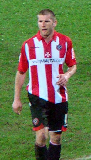 Richard Cresswell - Cresswell playing for Sheffield United in 2010