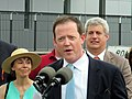 Richard Davey at Assembly station opening, September 2014.JPG