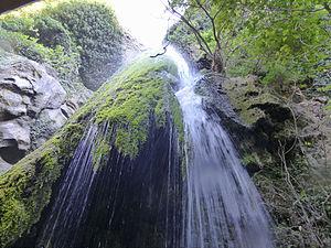 Richtis Gorge - Richtis waterfall