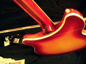 Rickenbacker - Double truss rod neck