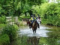Riders ford the River Nar at West Acre - geograph.org.uk - 92533.jpg