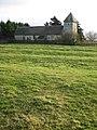 Ridge and furrow and Boddington Church - geograph.org.uk - 1087635.jpg
