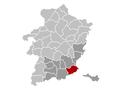 Riemst Limburg Belgium Map.png