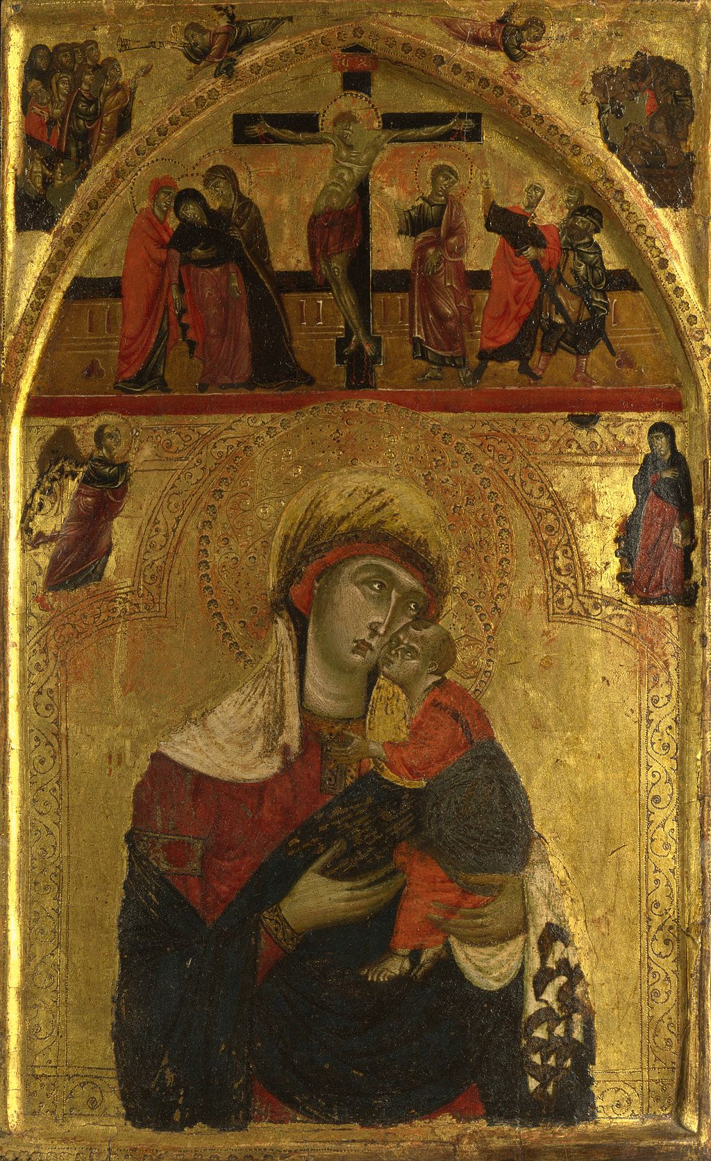 """The Virgin and Child"" by Master of the Clarisse"