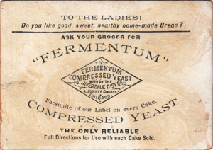 Riverdale, Illinois - An advertisement from the Riverdale Distillery c.1885