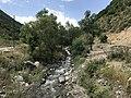 Rivière près du Poste-frontière Arménie-Karabagh sur la route Vardenis-Mardakert - 2.JPG