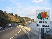 riviera del beigua via aurelia