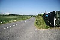 Road 396 II near Rouchovany, Třebíč District.JPG