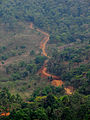 Road making to the Ranipuram hill.jpg