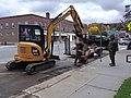 Road repair downtown Lyndonville VT October 2018.jpg