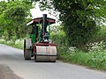 Road roller approaching Swanton Abbott under steam - geograph.org.uk - 1305794.jpg