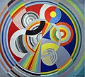Robert Delaunay, 1938, Rythme n°1, Decoration for the Salon des Tuileries, oil on canvas, Musée d'Art Moderne de la ville de Paris.jpg