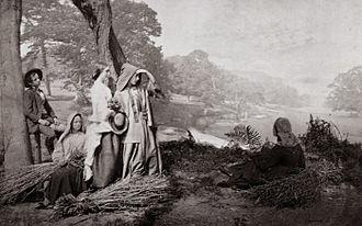 Combination printing - Henry Peach Robinson's Autumn, 1860
