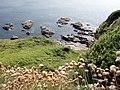 Rocks at Hoe Point - geograph.org.uk - 186457.jpg