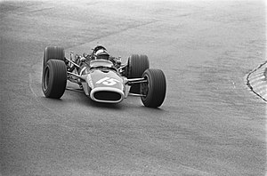 Pedro Rodríguez (racing driver) - Rodríguez at the 1968 Dutch Grand Prix