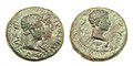 Roman Thrace Augustus Rhoemetalces Pythodoris.jpg