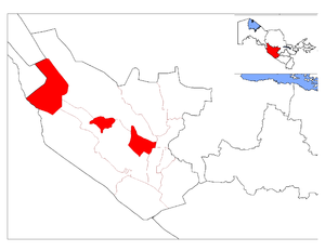Romitan District location map.png