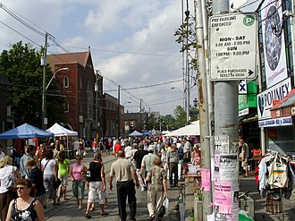 Polish Canadians - The largest Polish festival in Canada, held annually in Roncesvalles, Toronto