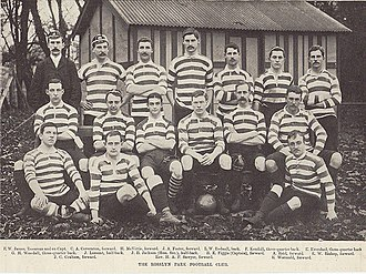 Rosslyn Park F.C. - The Rosslyn Park squad in 1892.