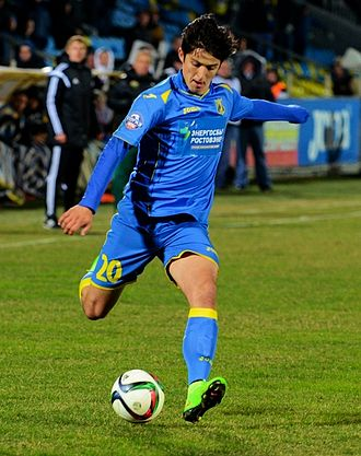 Sardar Azmoun - Azmoun playing for Rostov against Kuban Krasnodar on 16 March 2015