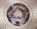 Rotunda ceiling, U.S. Capitol, Washington, D.C LCCN2011630085.tif